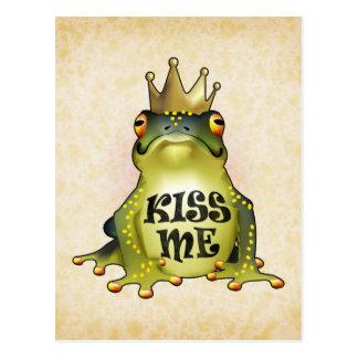 Kiss Me Postcard