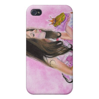 Kiss me princess frog Speck Case Cover For iPhone 4