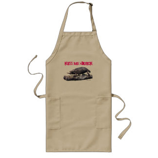 Kiss Me Quick Apron by Grouchy Chameleon