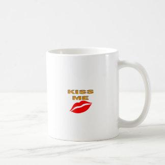 Kiss me Romantic Day Classic White Coffee Mug