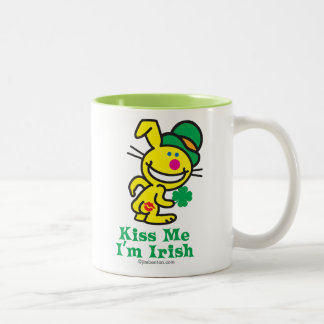 Kiss Me Two-Tone Coffee Mug