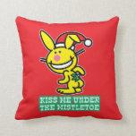 Kiss Me Under The Mistletoe Pillows