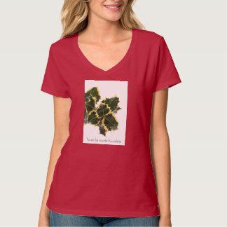 Kiss me under this mistletoe ugly Christmas shirt