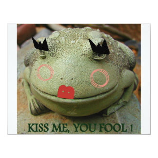 KISS ME YOU FOOL AGAIN CARD