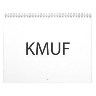 Kiss Me You Fool.ai Wall Calendar