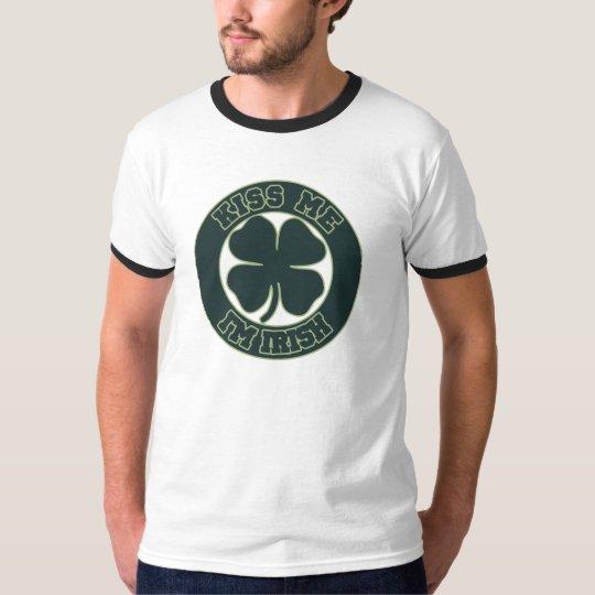 Kiss meIm Irish T-Shirt