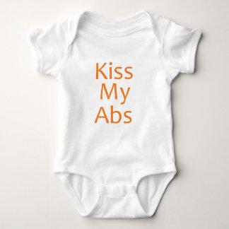 Kiss my Abs Baby Bodysuit