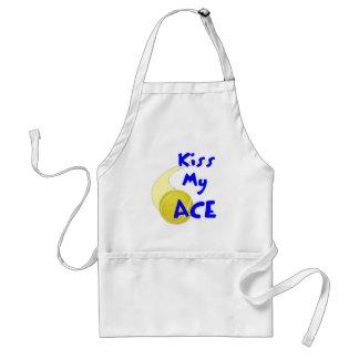 Kiss my Ace Adult Apron