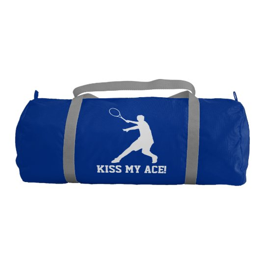 2d711602a7 Kiss my ace Custom tennis bag for player and coach