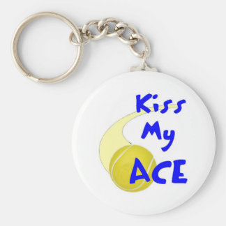 Kiss my Ace Keychain