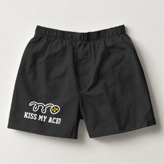 KISS MY ACE mens tennis boxer shorts underwear