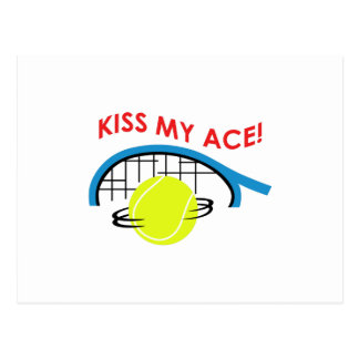 KISS MY ACE POST CARDS