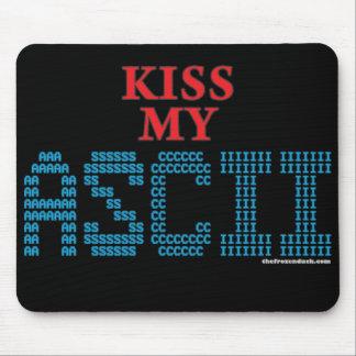 Kiss My ASCII Mouse Pad