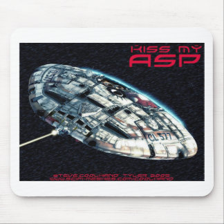 Kiss my  Asp Mouse Pad