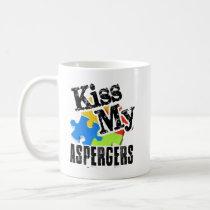 Kiss my Aspergers Mug