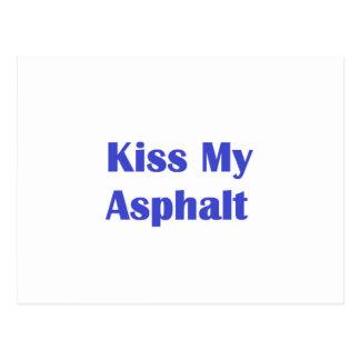 Kiss My Asphalt Postcard