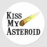 Kiss My Asteroid Sticker