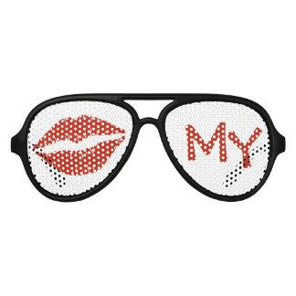 Kiss My Aviator Sunglasses