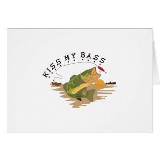 Kiss My Bass Card