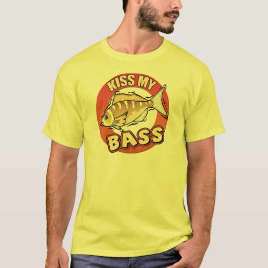 Kiss My Bass Fishing T-shirts Gifts