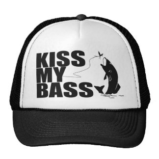 KISS MY BASS Hats