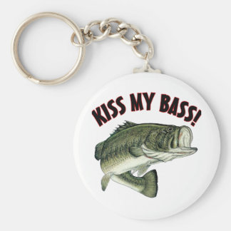Kiss My Bass Keychain
