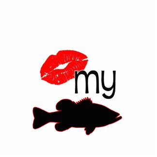 KISS MY BASS STANDING PHOTO SCULPTURE