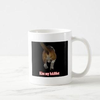 Kiss my bASSet Mugs