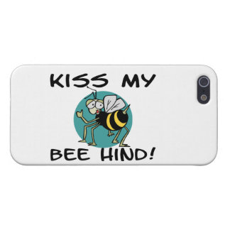 Kiss My Bee Hind Case For iPhone 5