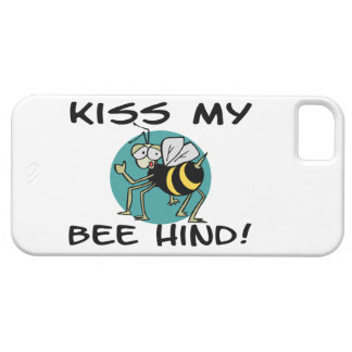 Kiss My Bee Hind iPhone 5 Case