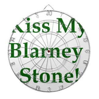 Kiss My Blarney Stone Dart Board