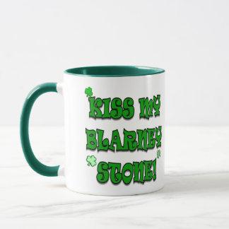 Kiss My Blarney Stone Irish Apparel and Gifts Mug