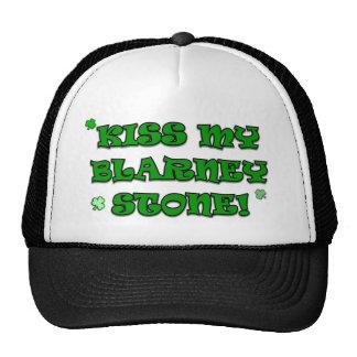 Kiss My Blarney Stone Irish Hats and Caps