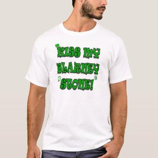 Kiss My Blarney Stone Irish Humor Shirt