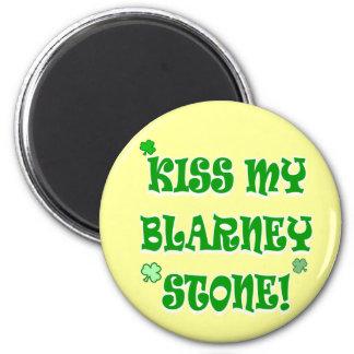 Kiss My Blarney Stone Irish Magnet