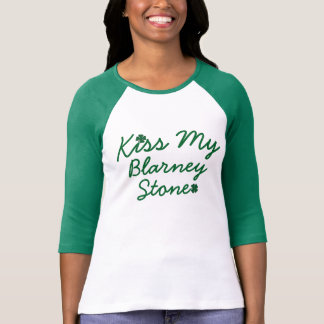 Kiss My Blarney Stone Tee Shirt