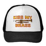 Kiss My Brass Trucker Hats
