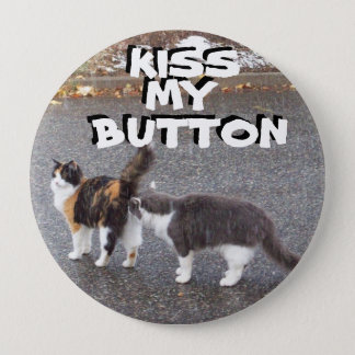 Kiss my button Cat Meme