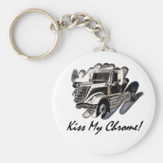 Kiss My Chrome! Keychain