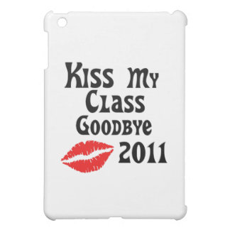 Kiss My Class Goodbye 2011 iPad Mini Covers