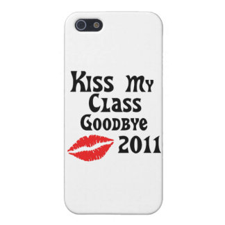 Kiss My Class Goodbye 2011 iPhone 5 Covers