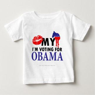 Kiss My Donkey, Im Voting for Obama Tshirts