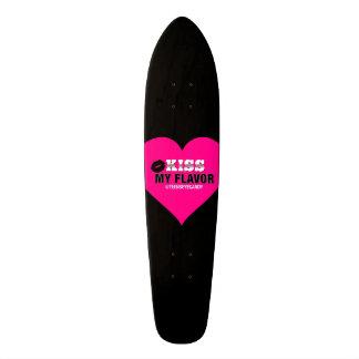 Kiss My Flavor Vape Pink Skateboard Deck