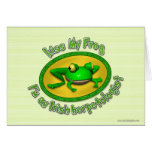 Kiss My Frog... Card