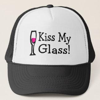 Kiss My Glass Trucker Hat