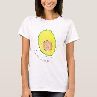 Kiss My Hass Cute Avocado T-Shirt