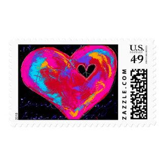 Kiss my heart postage