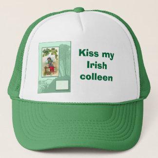 Kiss my Irish  colleen Trucker Hat