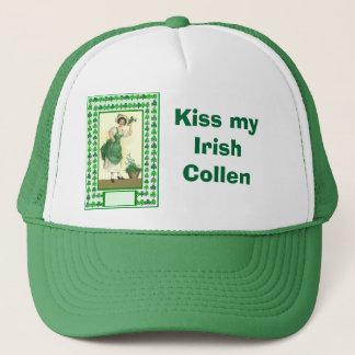 Kiss my Irish  Collen Trucker Hat