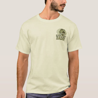 Kiss My Largemouth Bass by Mudge Studios T-Shirt